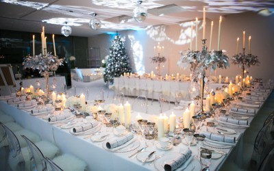 White and Silver Christmas Party